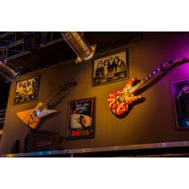 Soporte Exhibidor De Pared Para Guitarra, Bajo Super Seguro