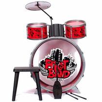 Bateria Musical Infantil First Band Faydi - Mundo Manias