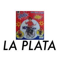 Bateria Infantil Con Asiento Para Nenes De 3/5 Años La Plata
