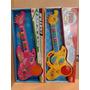 Guitarra Musical Luz Y Sonido Didactico Nena Y Nene A Pilas.