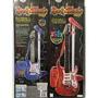 Guitarra Rock And Music Con Micrófono Y Amplificador!!!