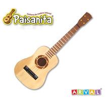 Guitarra De Madera Paisanita Nº6 Arval