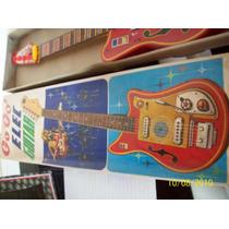 Guitarra, Lata Litografiada Made In Japan Go¡go¡¡elec Guitar