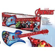 Marvel Avengers Extreme Guitarra Con Sonido Tapimovil
