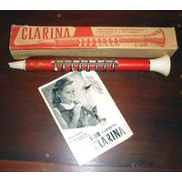 Antiguo Clarinete Hohner De Juguete