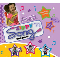 Microfono Infantil Flexible Nena Varon Zippy Song Tv Disney