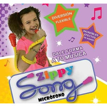 Micrófono Flexible Zippy Song De Juguete Musical+sonidos.
