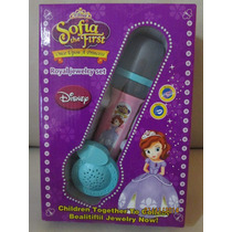 Microfono Infantil De Mano Princesa Sofia