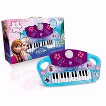 Teclado Organo Musical Disney Frozen Tapimovil Mundo Manias
