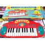 Organo Musical A Pilas Pop 25 Teclas Y Funciones Musicales