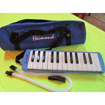 Melódica Piano Heimond P/soplar 32 Notas Varios Disponibles!
