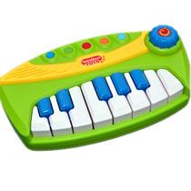 Organo Piano Electrónico Juguete Sonidos Melodias Luz Oferta