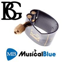 Bg Abrazadera Flexible Saxo Alto Lfa Incluye Cubre Boquilla