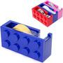 Porta Rollo Cinta Adhesiva Bloque Lego