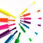 Set De Resaltadores Jeringa X6 Todos Colores Diseño Morph