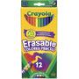Lapices Colores Crayola Erasable Borrables X 12 (18335)