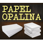 Papel Especial Opalina Blanca A4 240 Grs. X 100 Hojas