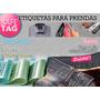 500 Etiquetas Ropa Marca Nombre Logo Coser Tela Grifas Talle