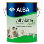 Albalatex Blanco 20 Lts Pintura Latex Interiores Mate
