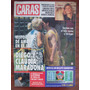 Caras 649 23/6/94 Maradona C Villafañe M Nanis C Caniggia