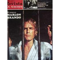 Marlon Brando En Queimada Revista La Nacion Año 1970