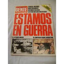 Revista Gente Estamos En Guerra 29 De Abril De 1982