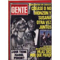 Gente Susana Gimenez Monzon Juntos Vilas Isabel Peron