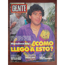 Gente 1341 4/4/91 Maradona A Puig Sal Luis M Grondona