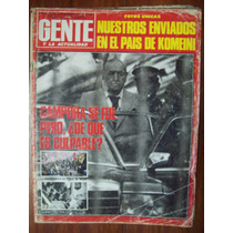 Gente 749 29/11/79 Campora Montoneros J Arizmendi M Rego