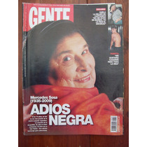 Gente 2307 6/10/09 Mercedes Sosa Muerte Pampita A Posse