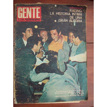 Gente 69 17/11/66 Racing Campeon F Tadeo Boca Juniors