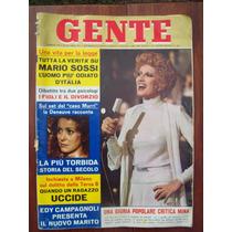 Gente 19 9/5/74 Italia M Sossi E Campagnolo
