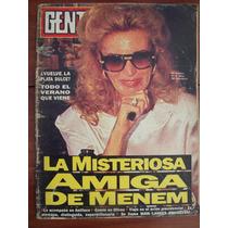 Gente 1372 7/11/91 Menem G Guinzburg W Beatty Mailer R Gallo