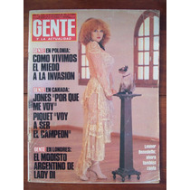Gente 844 24/9/81 L Benedetto Lady Di N Piquet A Jones