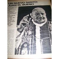La Nacion Revista- Juan Xxiii Santificado - Yuyito - Trudy