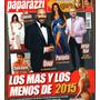Revista Paparazzi Dic 2015 Lali Esposito Onur Pampita Rial