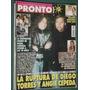 Revista Pronto 361 Maria Gabriela Epumer Viudas Rock & Roll