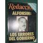 Revista Redaccion 87 Raul Alfonsin Radicales Errores Gobiern