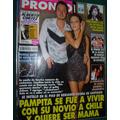 Revista Pronto 481 Pampita Sabu Floricienta Araceli Laport