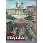 Italia Catalogo Con Paisajes Y Ciudades En Color Decada 70