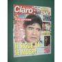 Revista Claro 24 Maradona Zilly Creciente Silvia Suller