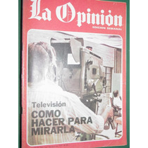 Revista La Opinion 44 Victoria Ocampo Television Carter