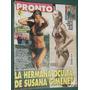 Revista Pronto 233 Susana Gimenez Natalia Oreiro Panam Menem