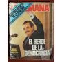 La Semana 542 21/4/87 R Alfonsin A Rico Mayor Barreiro