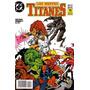 Los Nuevos Titanes # 22 Dc Comics. Ed Zinco 1989 Z. Devoto