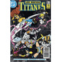 Los Nuevos Titanes # 17 Dc Comics. Ed Zinco 1989 Z. Devoto