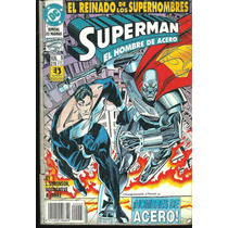 * Comic Ed Zinco Especial 52 Pag N° 5 Hombres De Acero