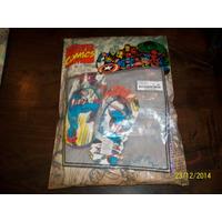 Ojotas Capitan America,marvel Comic,coleccion