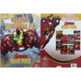 Cuentos Invencibles : Iron Man 8 Vol+ Cd+ Pizarra- Estuche