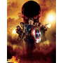 Poster Capitan America Super A3 Marvel Ca 1